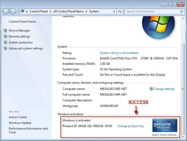windows 7 sp1 free  full version with crack