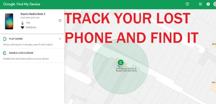How To Track Lost Phone: Find My Phone