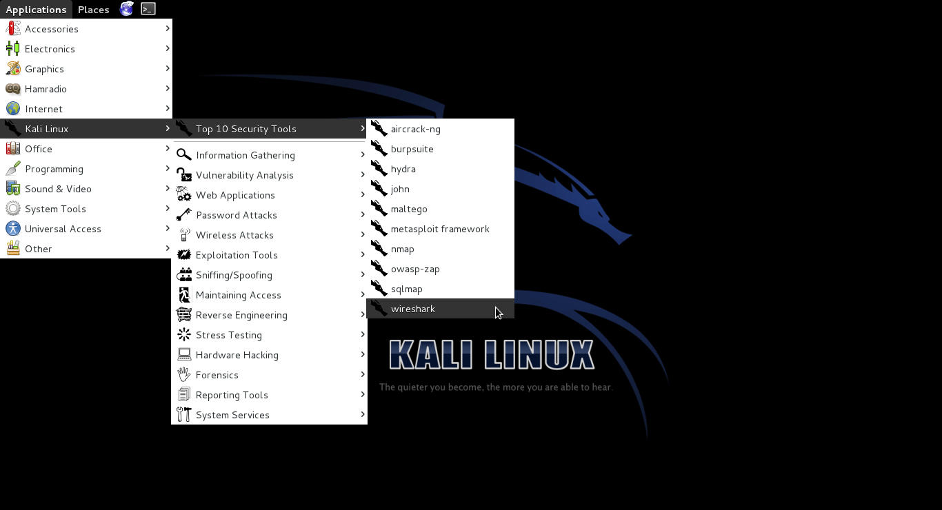 hack facebook account using kali linux