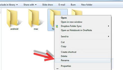 no name folder
