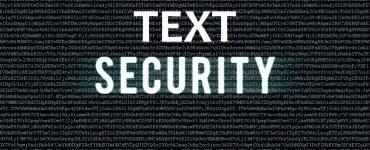 text encryption