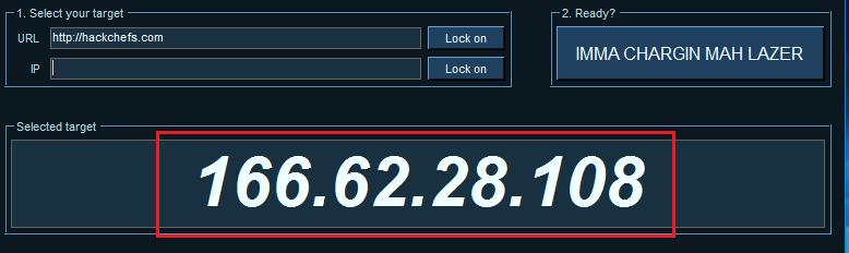 DDoS attack perform