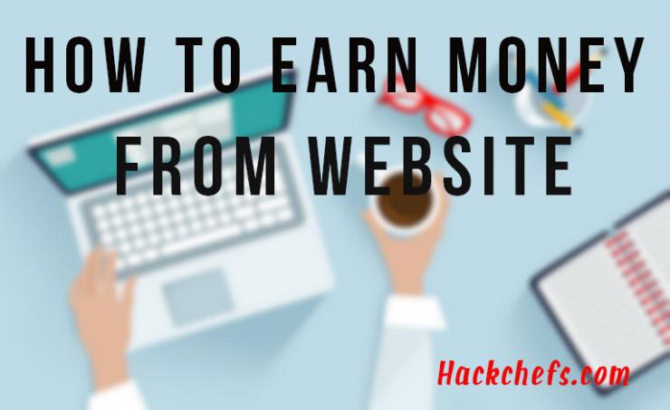 Earn money from website 2017