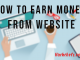Earn money from website 2017