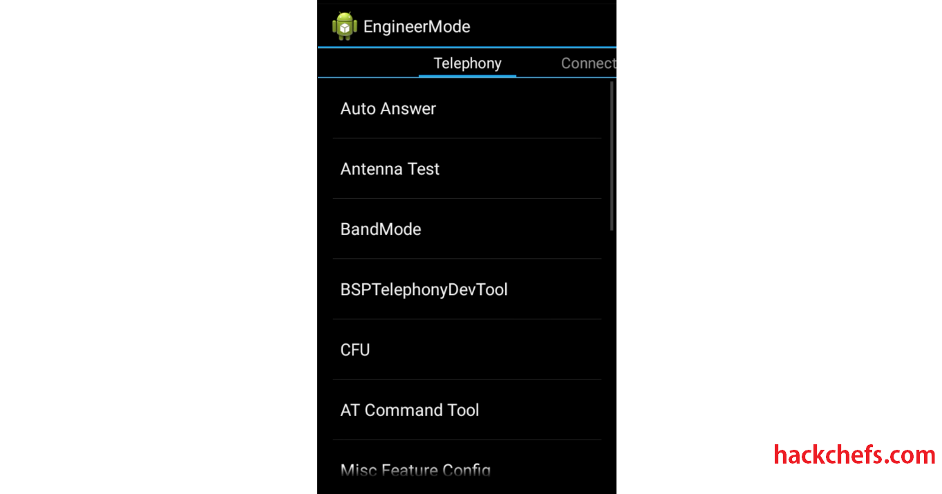 engineering mode android
