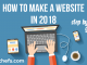 how to make website using wordpress in 2018