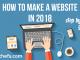 how to make website using wordpress in 2018