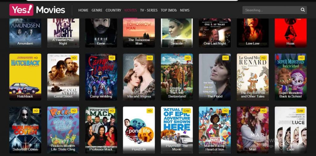 5 Best Alternatives Of YesMovies And Android App 2019