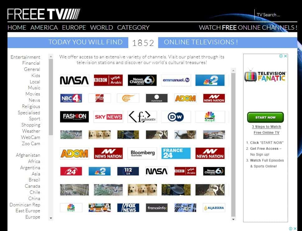 freee tv - firstonetv alternative