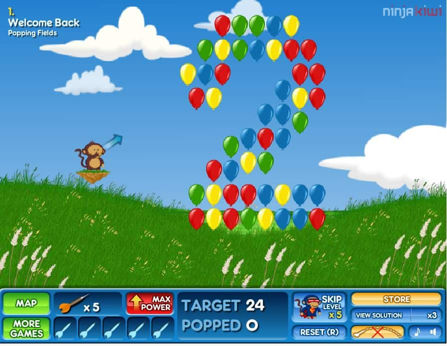 bloons 2 | Best Unblocked Games in 2020 to play at School