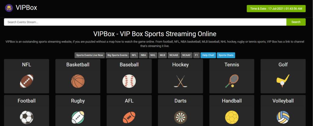 vipbox, best alternative of buffstreams