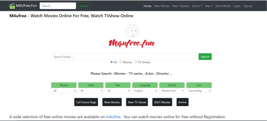 free movies site